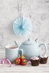 Чайник заварочный Pastel Shades 1,1 л голубой P&K P_0056.773