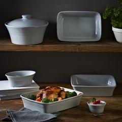 Блюдо для запекания Classic Kitchen прямоугольное 26 см серое Mason Cash 2001.502