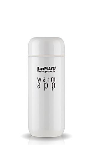 Термос La Playa WarmApp (0,2 литра) белый 560035