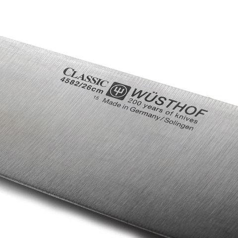 Нож кухонный Шеф 26 см WUSTHOF Classic (Золинген) арт. 4582/26