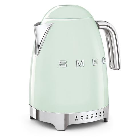 Чайник электрический с регулируемой температурой Smeg (Пастельный зеленый) KLF04PGEU
