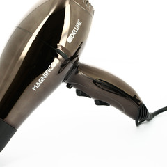 Фен Dewal Magnifico, 2000 Вт, ионизация, 2 насадки, коричневый 03-007 Brown