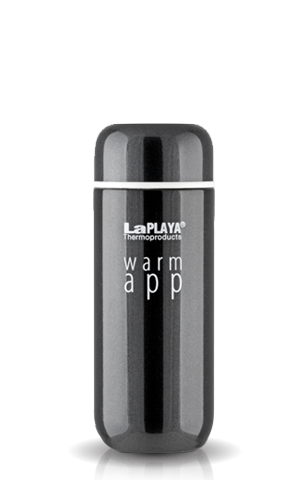 Термос La Playa WarmApp (0,2 литра) черный 560034