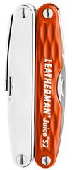 Мультитул Leatherman Juice S2, 12 функций, оранжевый 831941