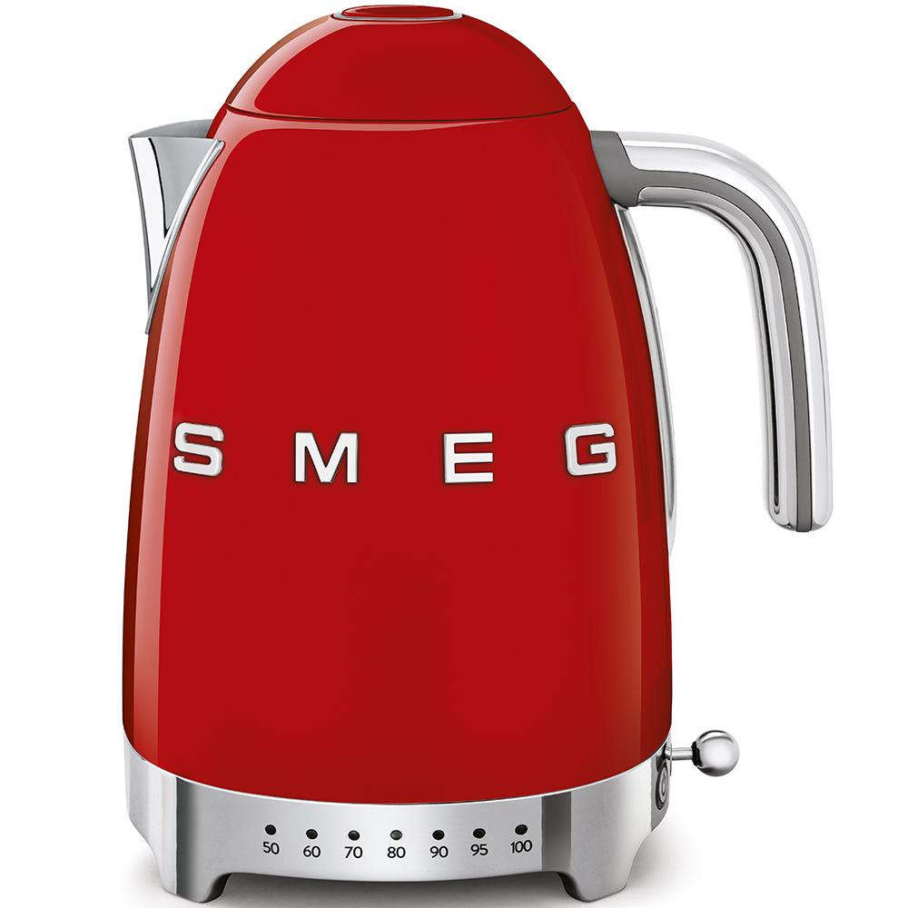 Чайник электрический с регулируемой температурой Smeg (Красный) KLF04RDEU фото