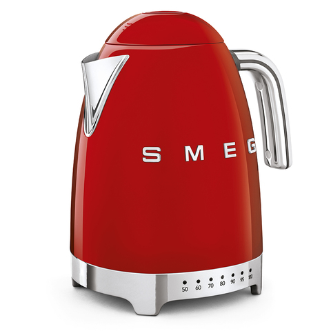 Чайник электрический с регулируемой температурой Smeg (Красный) KLF04RDEU