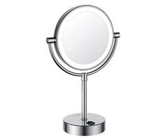 K-1005 Зеркало с LED-подсветкой двухстороннее, стандартное и с 3-х кратным увеличением WasserKRAFT