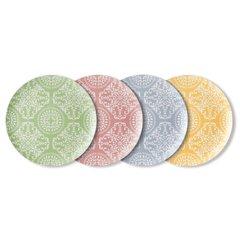 4пр набор тарелок декоррированных 30см BergHOFF 8500249