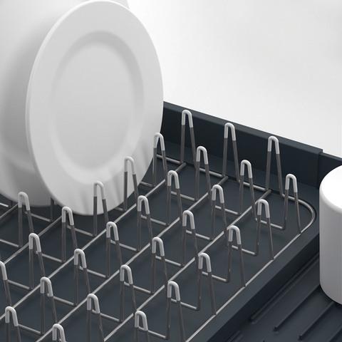 Сушилка для посуды раздвижная Joseph Joseph extend серая 85040