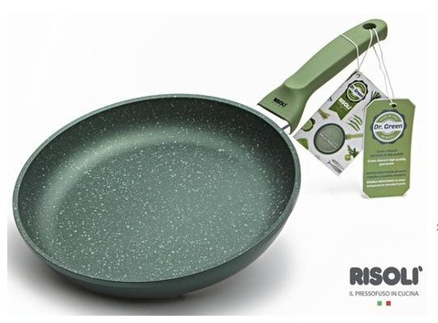 Литая сковорода Risoli Dr Green 24см 00103DR/24GS