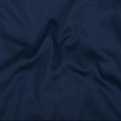Простыня из сатина темно-синего цвета из египетского хлопка из коллекции Essential, 180х270 см Tkano TK20-SH0007