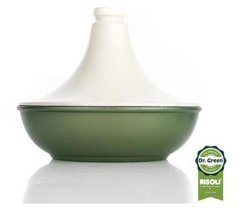 Тажин с керамической крышкой Risoli Dr Green 24см 00133DR/24GS