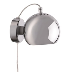 Лампа настенная Ball, хром в глянце Frandsen 47505555011