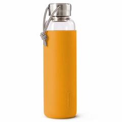 Бутылка для воды стеклянная 600 мл оранжевая Black+Blum GR-WB-M003