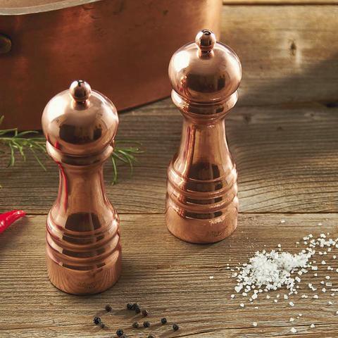 Мельница для перца деревянная с медным покрытием 16,5 см BISETTI Rame 5150RAL