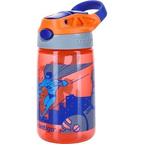 Детская бутылочка Contigo для воды «Gizmo Flip» (0,42 литра), оранжевая
