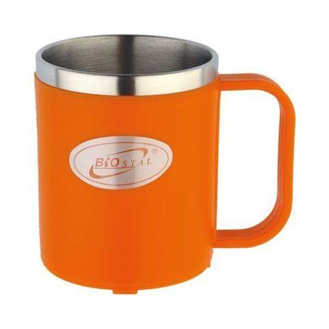 Кружка Biostal Flër (0,2 литра) оранжевая