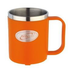 Кружка Biostal Flër (0,2 литра) оранжевая NE-200-O