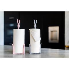 Держатель для бумажных полотенец ROGER Organic розовый Koziol 5226669