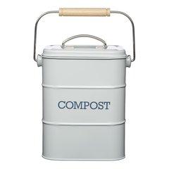 Бак для мусора Living Nostalgia Kitchen Craft LNCOMPGRY