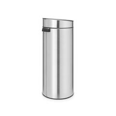 Мусорный бак Touch Bin New 30 л матовый с защитой от отпечатков пальцев Brabantia 115462