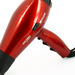 Фен Dewal Spectrum Compact, 2100 Вт, ионизация, 2 насадки, красный 03-109 Red