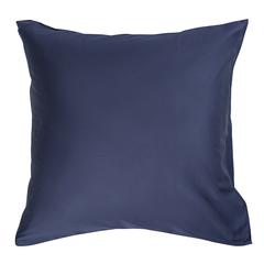 Набор из двух наволочек из сатина темно-синего цвета из коллекции Essential, 70х70 см Tkano TK19-PC0010