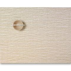 Салфетка подстановочная, жаккардовое плетение, винил, (36х48) Gold (100124-004) CHILEWICH Lattice арт. 0117-LATT-GOLD