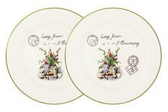 Набор из 2-х обеденных тарелок Букет Anna Lafarg LF Ceramics 55547