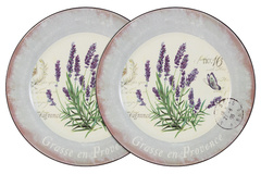 Набор из 2-х обеденных тарелок Лаванда Anna Lafarg LF Ceramics 55282