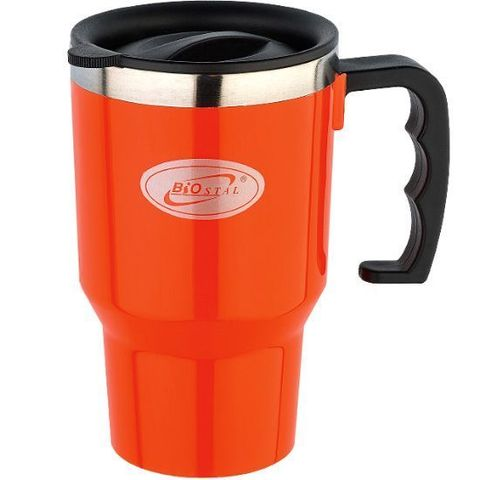 Кружка Biostal Авто (0,45 литра) оранжевая