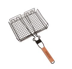 Решетка-гриль 32х24 глубокая Diolex со сьемной ручкой (сталь с хромированным покрытием) DX-G1113-B