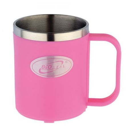 Кружка Biostal Flër (0,2 литра) розовая