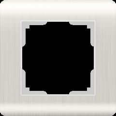 Рамка на 1 пост (перламутровый) WL12-Frame-01 Werkel