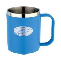 Кружка Biostal Flër (0,2 литра) синяя NE-200-BL