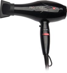 Фен Dewal Pro Style, 2000 Вт, 2 насадки + диффузор, черный* 03-111 Black