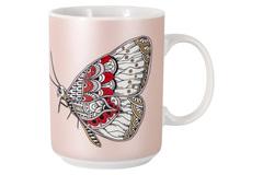 Кружка Бабочка 0,4мл Home & Style Wild 58297