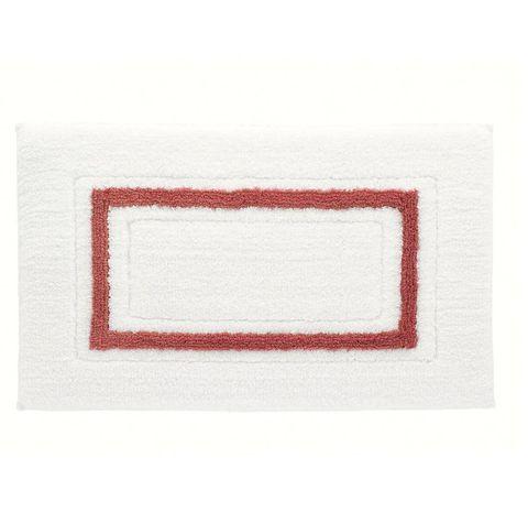 Коврик 51х79 Kassatex Framed Stripe White/Paprika FSP-510-WPR