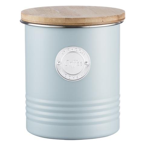 Емкость для хранения кофе Living, голубая, 1 л TYPHOON 1400.971V