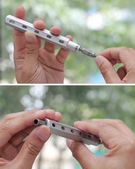 Мультитул Mininch Tool Pen серебро TP-013 TP-013