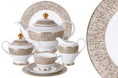 Чайный сервиз Луксор 42 предмета на 12 персон