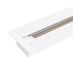 Встраиваемый однофазный шинопровод 2 метра белый (с вводом питания и заглушкой) TRLM-1-200-WH Elektrostandard