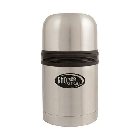 Термос универсальный (для еды и напитков) Biostal (0,75 литра) стальной