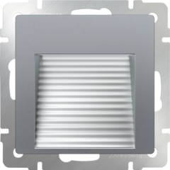 Встраиваемая LED подсветка (серебряный) WL06-BL-02-LED Werkel