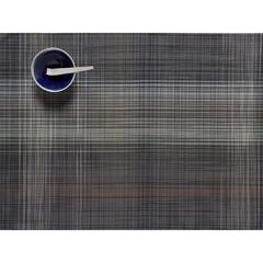 Салфетка подстановочная, винил, (36х48), GREY CHILEWICH Plaid арт. 100411-001