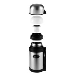 Термос универсальный (для еды и напитков) Biostal (0,6 литра) стальной NG-600-1