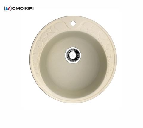Кухонная мойка из искусственного гранита (Artgranit) OMOIKIRI Tovada 51-BE (4993363)