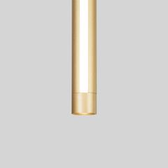 Подвесной светодиодный светильник Eurosvet Strong 50189/1 LED матовое золото
