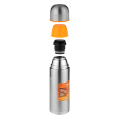 Термос Biostal Спорт (0,5 литра) 2 пробки, стальной NBP-500