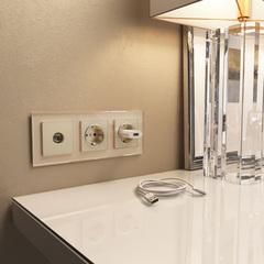 Рамка на 3 поста (шампань) WL01-Frame-03 Werkel